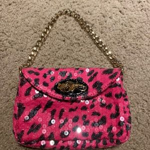 Betsey Johnson sequined purse